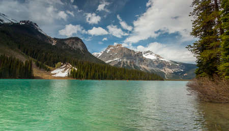 sightsee: scenic view of Banff National park in Canada