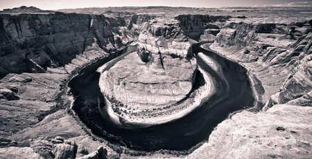 arizona scenery: horseshoe bend in the colorado river