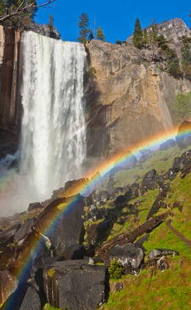 view of scenic waterfalls