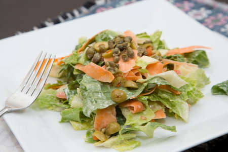 romaine lettuce: Homestyle Romaine Lettuce Salad