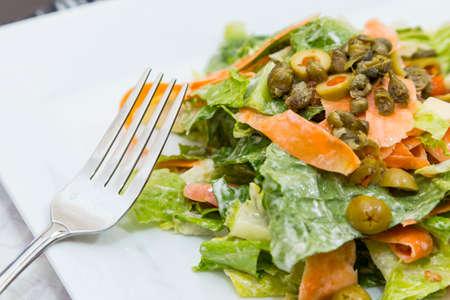 romaine: Homestyle Romaine Lettuce Salad