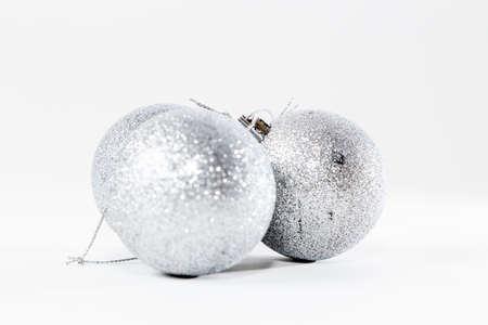 明るい背景にクリスマスつまらないもの装飾