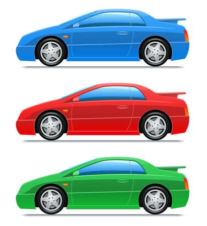 Automóvil deportivo de vector