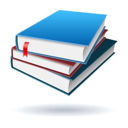 Books or Notebooks Illustration