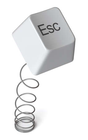 esc: Escape key