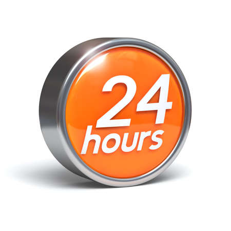 24 hours - 3D button