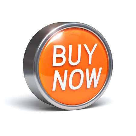 Buy Now - 3D button Stock Photo - 7914235