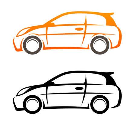 Car sketch Vettoriali