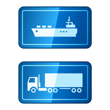 Cargo transportation Stock Vector - 11656151
