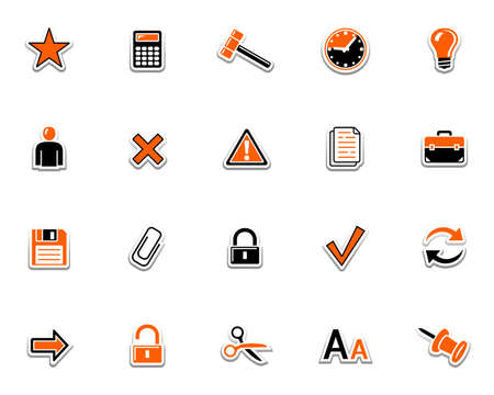 Web icons 2 Illustration