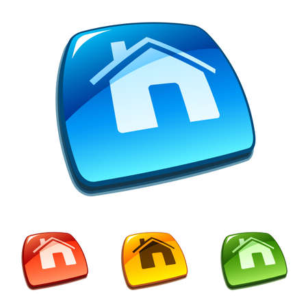 home icon: Home buttons