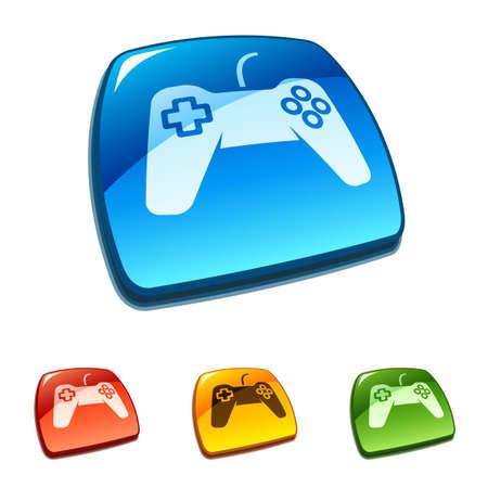 gamepad: Game pad symbol