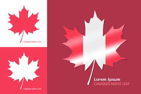 canadian maple leaf: Canadian maple leaf symbol. Vector illustration