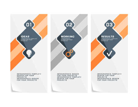 Corporate design of paper brochure.