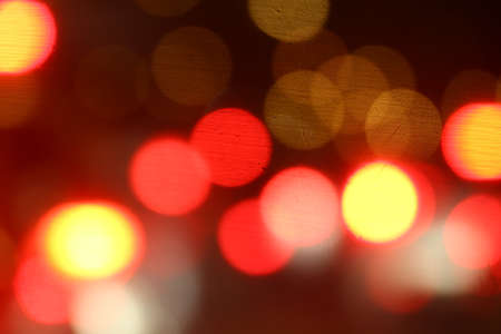 Bokeh multi colored abstract soft colorful light bokeh red yellow background night light background Banco de Imagens