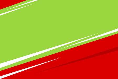 bright red green color frame banner web template background square blank and copy space for advertising banner promotion special sale discount on media social online marketing products