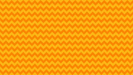 gezackte gestreifte orange-gelbe Farbe für den Hintergrund, Kunstlinienform Zick-Zack-Orange Farbe, Tapetenstrichlinie paralleles Wellendreieck orange, Bildmaßwerk Chevron-Linie Dreieck gestreiftes Vollbild