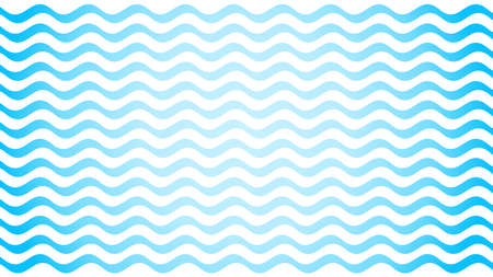 water wave blue line stroke on white background, water wave blue smooth simple, art line water wave for banner design and copy space, ocean wave for drinking water symbol graphic blue waves