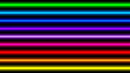 colorful neon light beam horizontal for background, disco light shine horizontal geometric, neon beam vertical lines pattern, disco rainbow light shine parallel blur, light beam lines of digital media