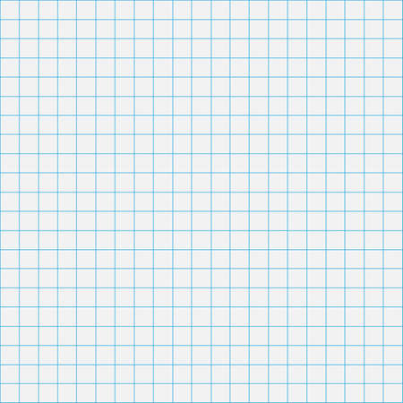 cuadrícula cuadrícula línea gráfica página completa sobre fondo de papel gris, cuadrícula de papel cuadrícula gráfica línea textura de cuaderno en blanco, cuadrícula en papel color gris, cuadrícula cuadrada vacía para diseño de arquitectura Ilustración de vector