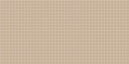 grid square graph line full page on brown paper background, paper grid square graph line texture of note book blank, grid line on paper brown color, empty squared grid graph for architecture design 向量圖像