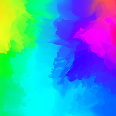 abstract colorful mixed for background, rainbow watercolor stains paint for card banner advertising, art painting blue colors with watercolor brush style full frame, acrylic watercolor colorful paint