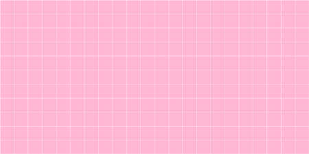 grid square graph line full page on pink paper background, paper grid square graph line texture of note book blank, grid line on paper pink color, empty squared grid graph for architecture design Çizim