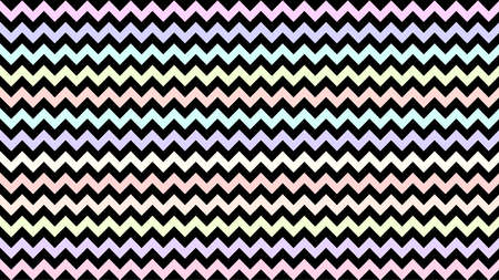 rainbow serrated striped pastel color for background, art line shape zig zag doodle, wallpaper stroke line parallel wave triangle rainbow pastel, tracery chevron colorful triangle striped full frame