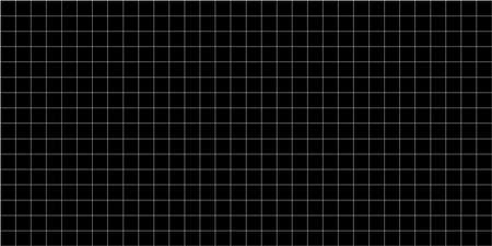 grid square graph line full page on black paper background, paper grid square graph line texture of note book blank, grid line on paper black color, empty squared grid graph for architecture design