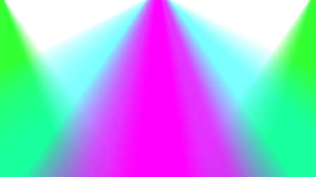 blurred colorful light beam on white for background, light ray glowing bright color for backdrop, spotlight colorful glow and shine, spectrum colored shiny, rainbow illumination glow graphic effect