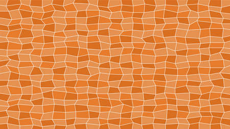 abstract tile brown for decoration and background, brown texture for decorative wall, modern geometric brown graphic, pattern mosaic tile for material, illustration geometric polygon surface