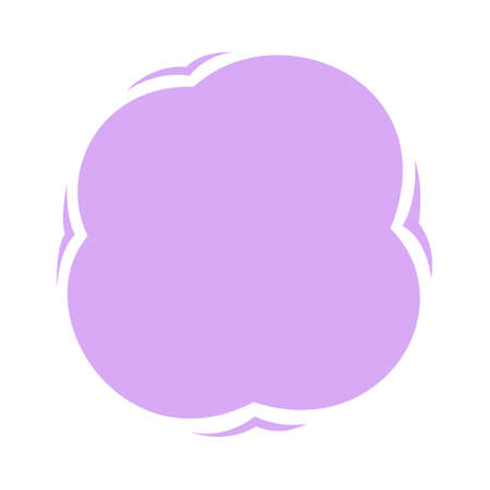 blob shape purple soft for banner copy space, aqua background, blob splash purple pastel color, water blobs droplet wave shape for element banner, blob round shape simple for graphic ad design Illustration