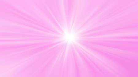 pink white zoom effect for background, shiny glowing pink color blurred Archivio Fotografico