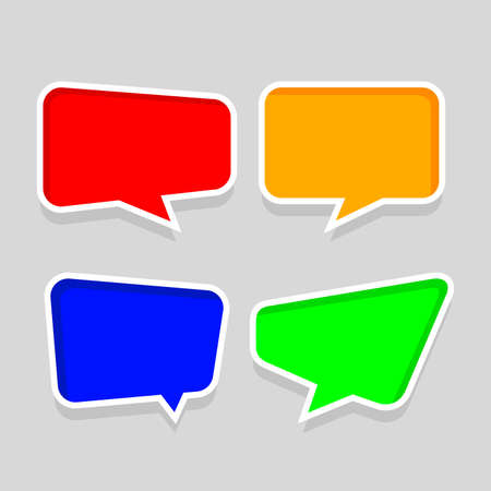 speech bubble frame for message talk