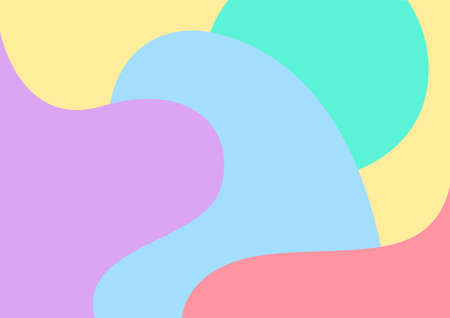 pastel soft multicolour for background, blob free shape multicolored for backdrop, colorful blob shape for banner, multicolored blob shape for wallpaper, blob free shape multicolored for backdrop Stok Fotoğraf - 154522712