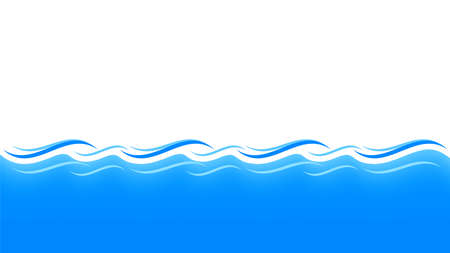 water waves blue for background, water ripples light blue and copy space, ocean sea surface for banner background, aqua flowing graphic Stok Fotoğraf - 154726846