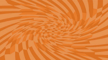 brown twirl wave pattern abstract for background, optical wave twirl brown color, hypnotic concept, dynamic motion curve of lines flowing brown, lines wave shaped array of blended points illusion
