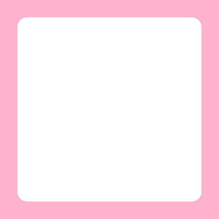 pink banner frame template square for background, copy space, cosmetics banner background Stok Fotoğraf - 154726990