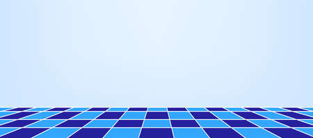 wall and checkered tile ceramic for architecture background, bathroom floors and indoor wall, tiled floor blue color inside room, wall tiles checkered pattern, mosaic tile and floor empty