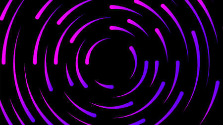 circle line purple colorful for modern background, light neon effect motion with line mixed color, glowing light circle graphic for wallpaper, art line swirl shine color for technology digital concept