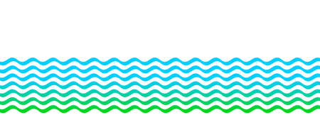 water wave stripes, water waves blue green for background, water ripples light blue, ocean sea surface for banner background, aqua flowing graphic, copy space