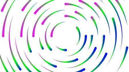 circle line colorful bright for modern background, light neon effect motion with line mixed color, glowing light circle graphic for wallpaper, art line swirl shine color for technology digital concept 向量圖像