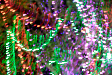 blurred christmas light background, colorful bokeh light glitter for background, sparkle light for decoration christmas party