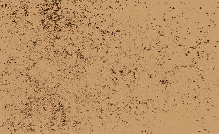 background grunge texture dust on paper brown, dirty dust textured grainy, old textured grungy brown for retro wall background 向量圖像