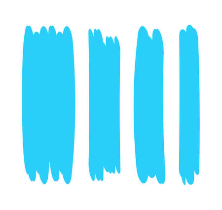 light blue stripes brush paint for scribble marker, brushstroke painting blue pastel soft color, light blue watercolor brush art, paintbrush blue soft strip paint