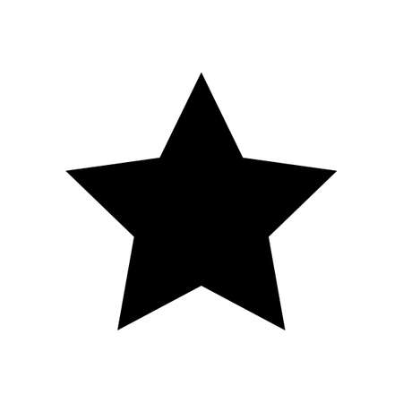 star for icon, star symbol, star shape simple for clip art