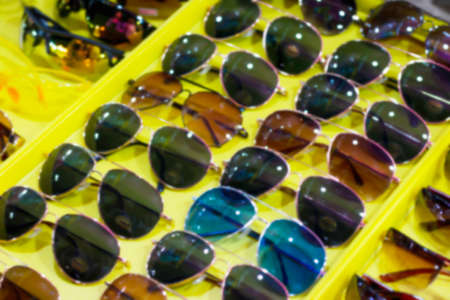 blurred glasses fashion for background Imagens