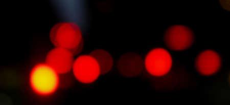 red bokeh light in black for background