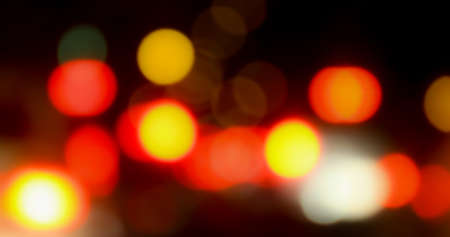 red soft bokeh in dark background, blurred bokeh light colorful for background, colorful shiny for wallpaper background Stok Fotoğraf
