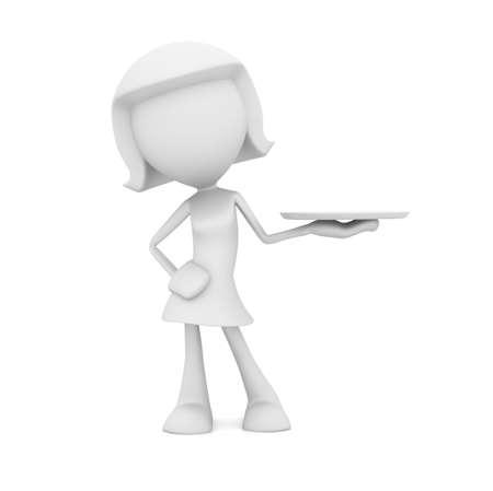 fine dining: Waitress